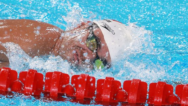 Nadador Diego López
