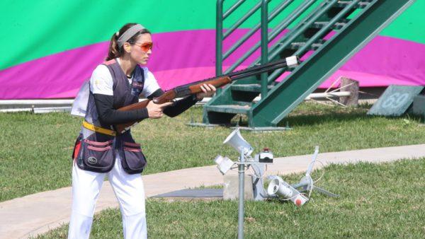 Gabriela Garza tiro deportivo