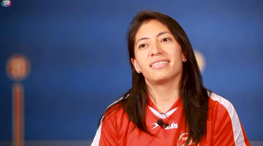 Daniela Vargas pelotari