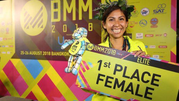 Andrea Ramírez atleta