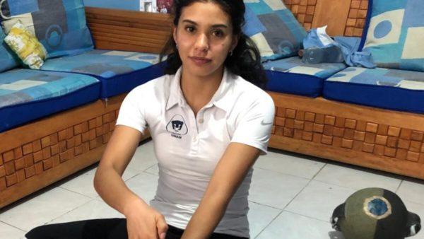 Karla Muñoz Nadadora