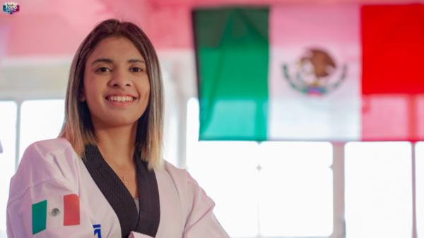Fabiola Villegas taekwondoín