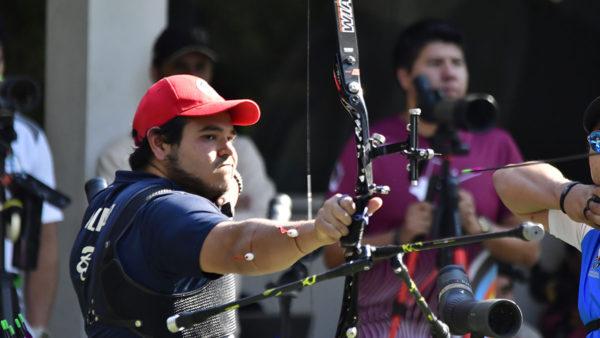 Luis Álvarez tiro con arco
